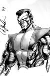 Colossus Con Sketch 2 by davidyardin