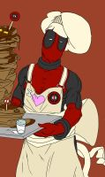 Chef Deady at yo service :D by Lycanthro54