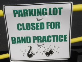 Parking Lot Closed by pianoanimato