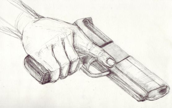 The Gun 1 by kengriffin