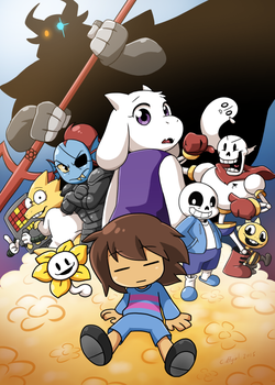 Undertale by Coffgirl