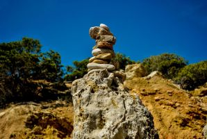 Stone Installation Paguera by SqueezeBoxx