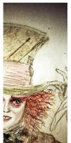 Mad Hatter Bookmark by FightingForNothing