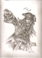 Jack Sparrow by AhdiasAndI