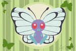Butterfree by Ariaera