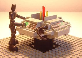 Lego Tardis Console by ryfter