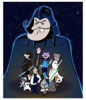 Star Wars meets Hanna Barbera by littlereddog