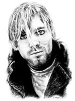 Kurt Cobain by Parrolo