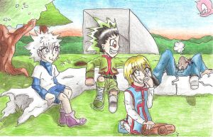 oh dear leorio fell off xD by sheezy93