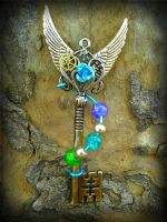 Time Galaxy Fantasy Key by ArtByStarlaMoore