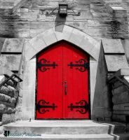 The Red Door by MadameAradia
