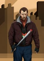 Niko Bellic by Deimos-Remus