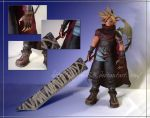 KH Cloud Strife Papercraft by Lyrin-83