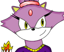 Blaze made with gimp and paint x by CardiGirl28