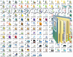 Almercons.dll Win 7 Icon File by Elmer-BeFuddled