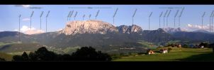 Panorama Alto Adige - lettered by rotane