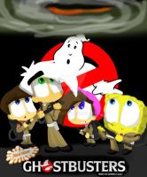 Nicktoon Ghostbusters Poster by PL125