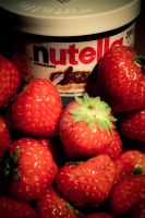 Nutella with Stawberries by mohakjain92