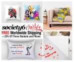 Discounts on Society6! by Jackce-Art