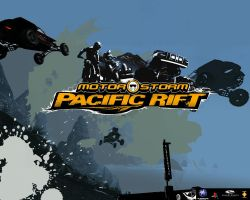 Motorstorm Pacific Rift by mustash2003