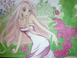 Eve in flowers by izaioi