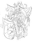 Bruja Lineart by Genso-x