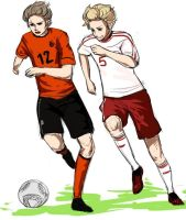 APH: Netherlands vs Denmark by SilentSeven