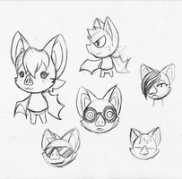 Animal Crossing Bats by rongs1234