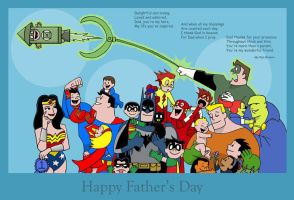 A Justice Father's Day by The-BlackCat