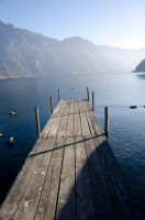 Traunsee - Steg by Jiluo