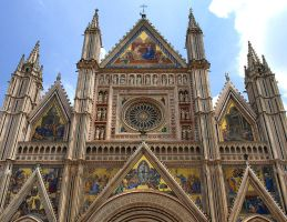 Italy - Cathedral Facade by AgiVega