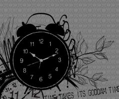 Goddamn Time by snap-crackle-amy