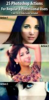 25 Photoshop Actions by hmtopu