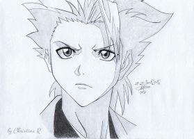 Bleach Toshiro Hitsugaya by Monstacookie