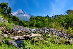 The charm of Mount Merapi by chaplin75