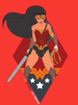 Wonder Woman by felitomkinson