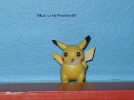 Pikachu for President by Hawklegs