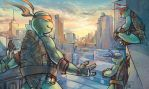 TMNT Sunrise by lorna-ka