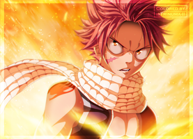 Fairy Tail 477 - I'll Turn You To Ashes [Coloring] by II-Trinuma-II
