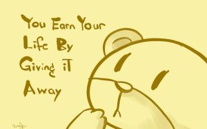 Earn your life by SaerwenApsenniel