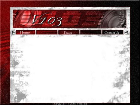 The V103 Website by Savedbygrace