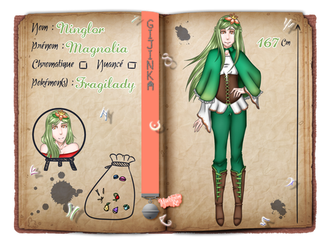 [Maelstrom] Fiche personnage - Magnolia by Bul-chan