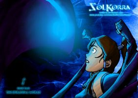 Korra vs The Evil Spirit Season 2 by SolKorra by SolKorra