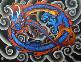 dragon painting 2 by Pallat