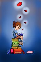 Reading is Love by Eliwi