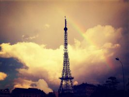 Rainbow in DaLat by LaLiar