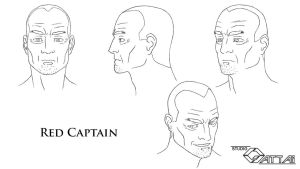 Red Captain ModelSheet 2d by unitzer07