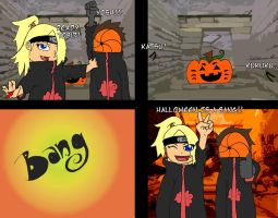DeiTobi: Halloween is a BANG by thegeekpit