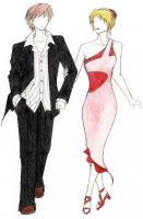 Couple Fashion Design by gumdropsx