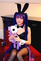 Bunny Stocking by EnchantedCupcake